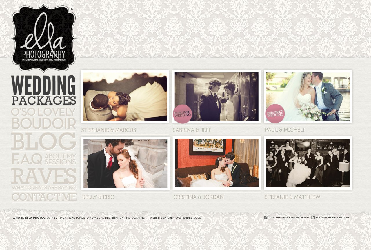 Ella Photography Wedding Galleries