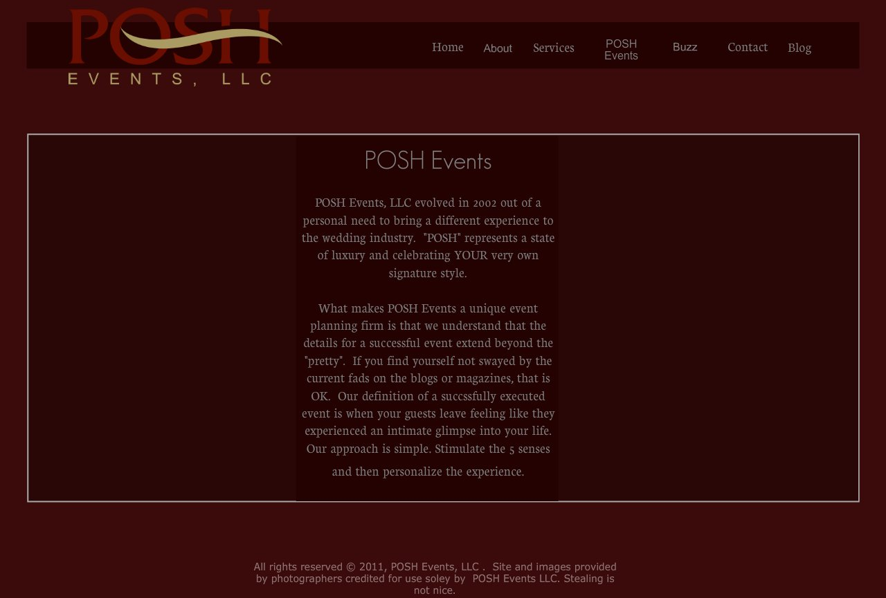 About POSH Events, LLC