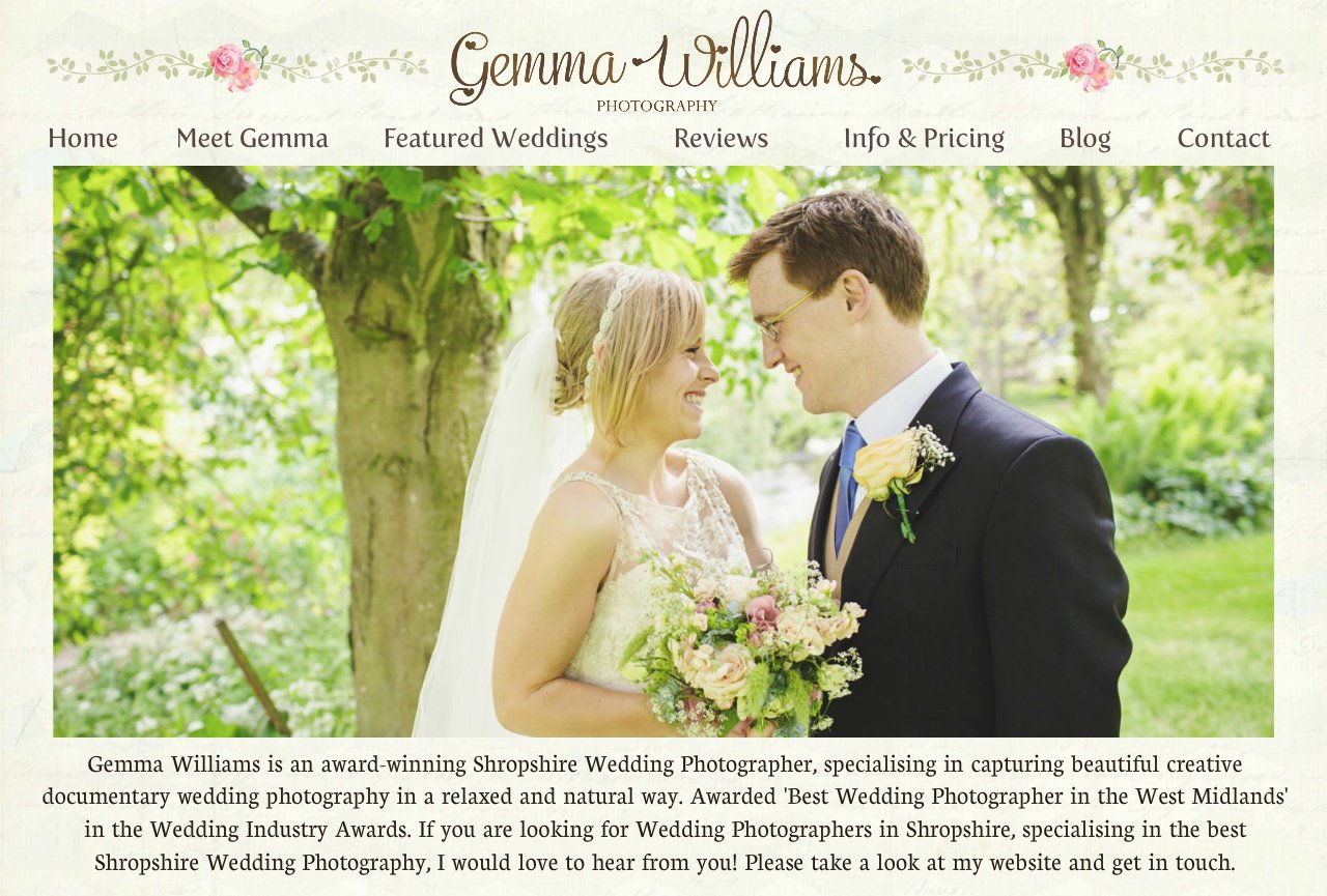 Shropshire Wedding Photographer Gemma Williams | Herefordshire | Worcestershire | Gloucestershire | Shropshire