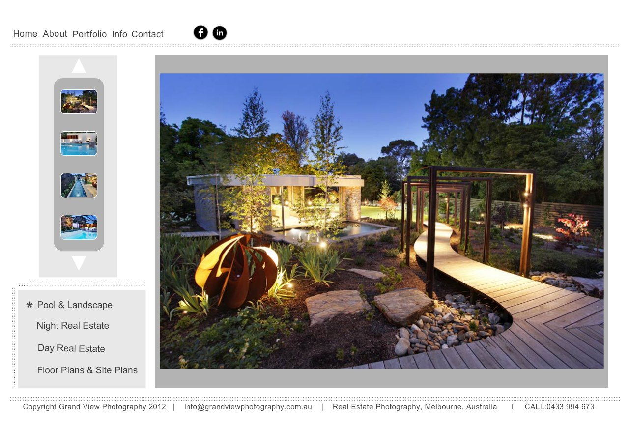 Swimming Pool design and Landscape design Photography by Grand View Photography, Melbourne, Victoria, Australia