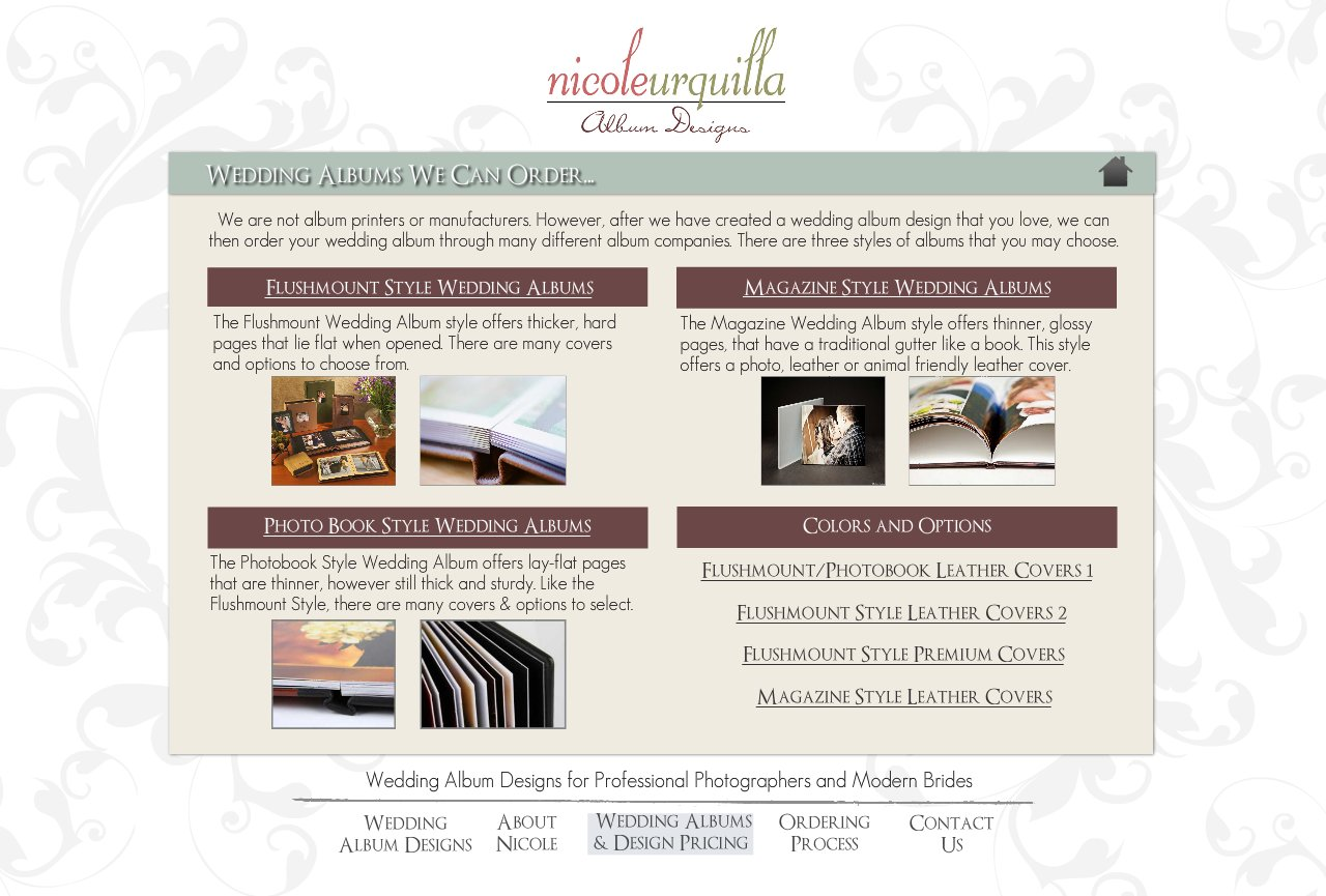 Wedding Albums We Can Order - Wedding Album Design Services for Professional Photographers and Individual Couples