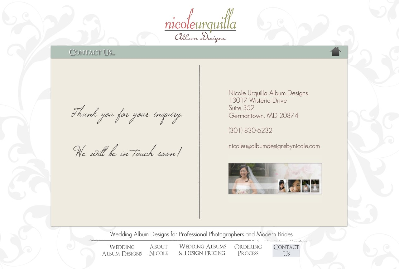 Contact Us - Wedding Album Design Services for Professional Photographers and Individual Couples