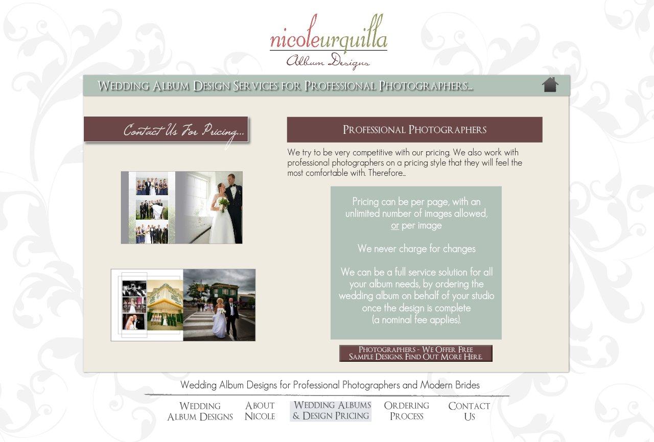 Wedding Album Design Services for Professional Photographers - Wedding Album Design Services for Professional Photographers and Individual Couples