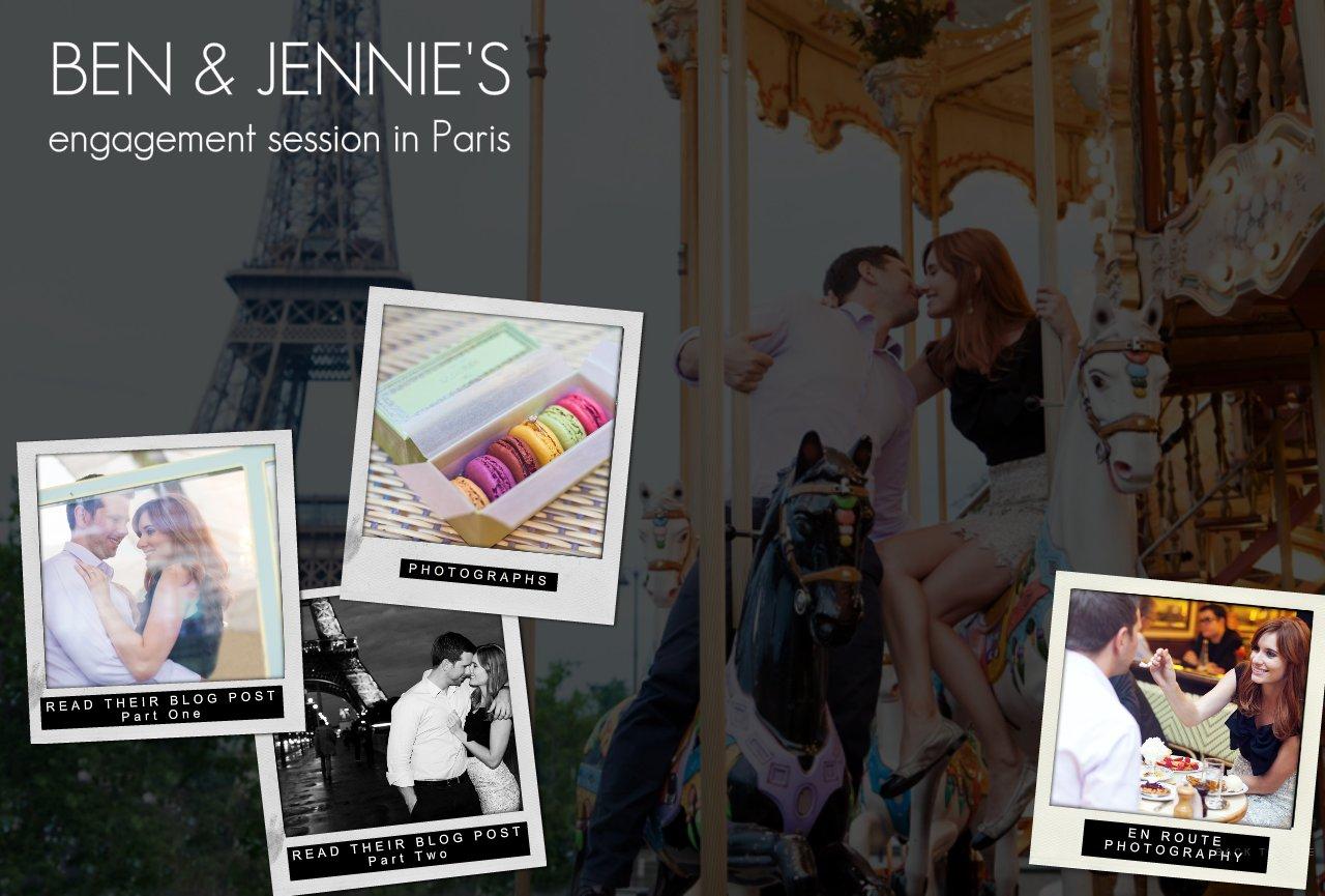 Ben & Jennie Engaged in Paris
