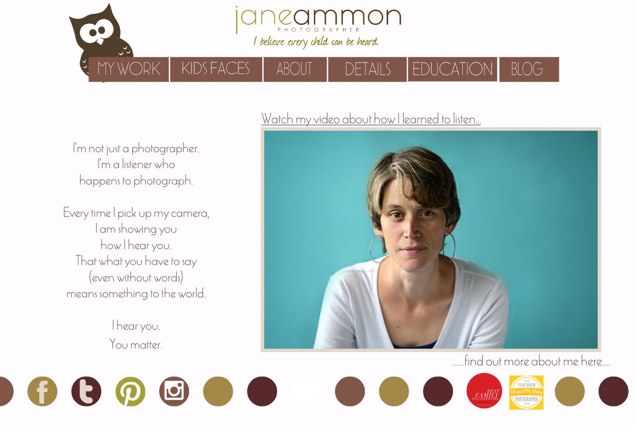 all about jane ammon