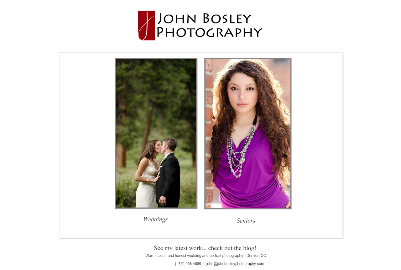 Denver Wedding and High School Senior Photographer - John Bosley Photography : Gallery