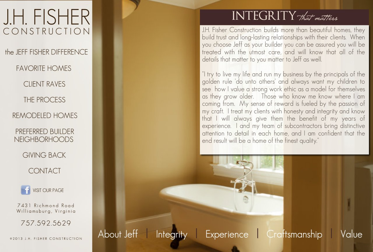 Integrity at J.H. Fisher Construction-3