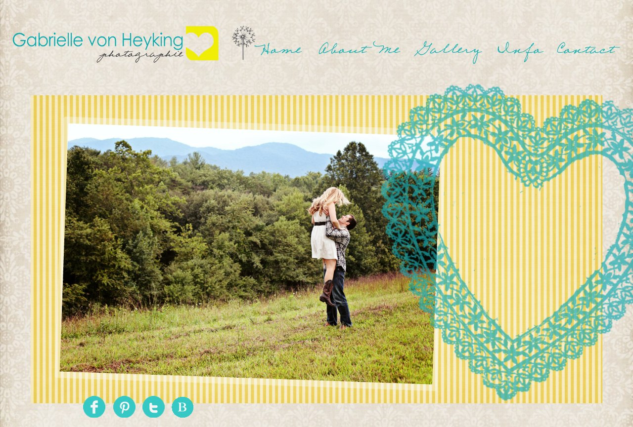 Home l Gabrielle von Heyking Photographie l North Carolina Wedding Photographer