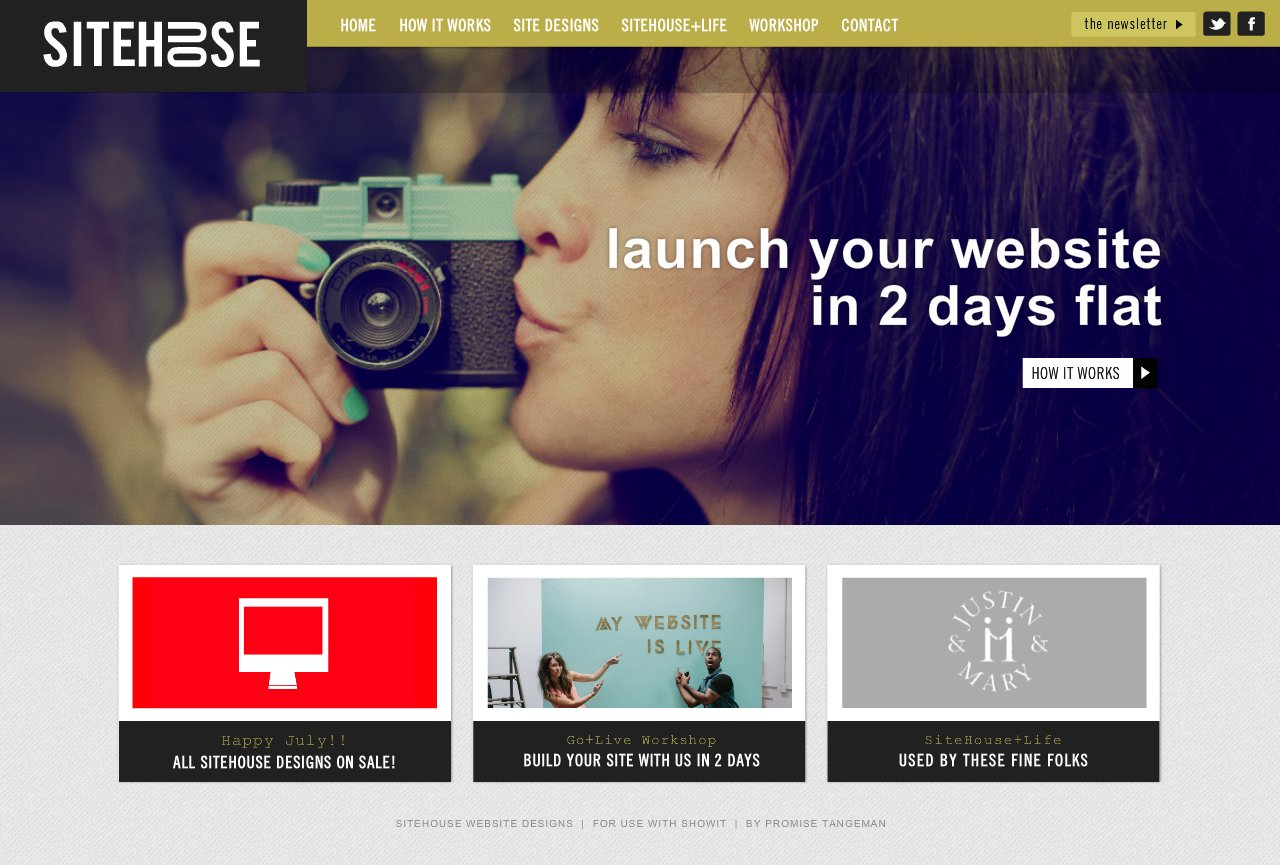 Customizable Website Designs For Creatives by Promise Tangeman