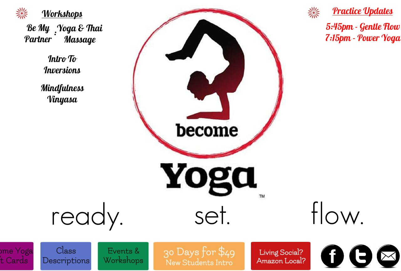Become Yoga - Splash