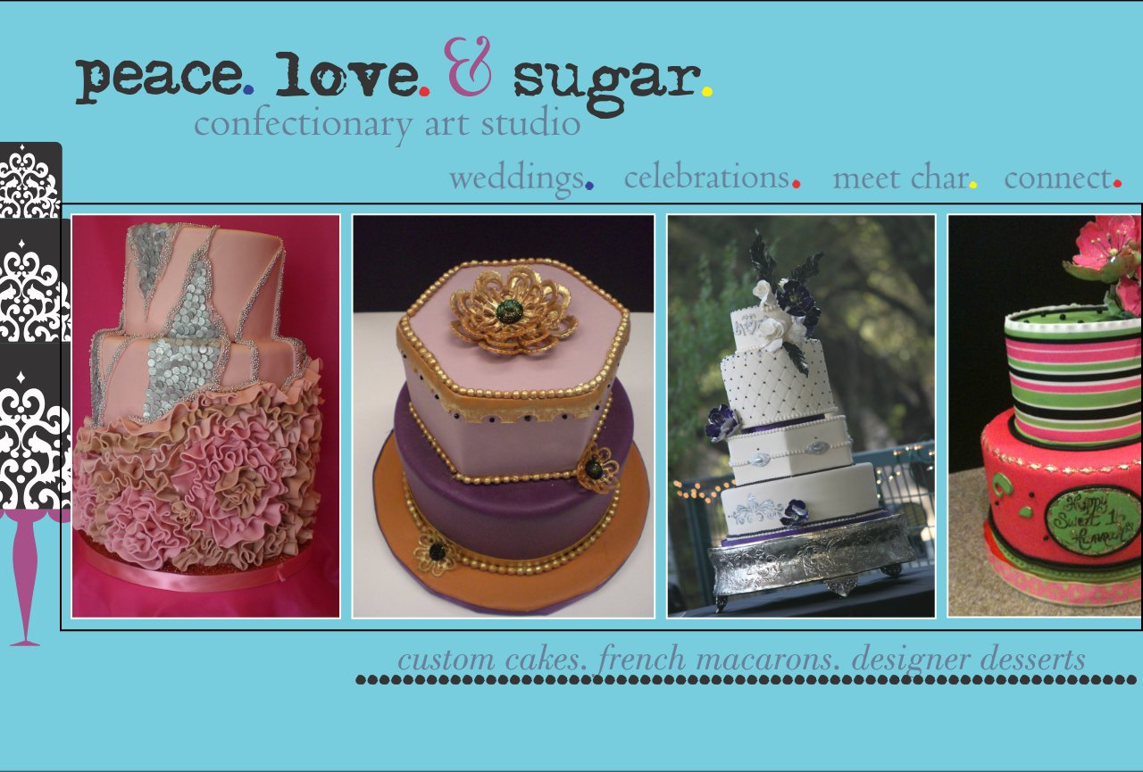 Peace Love & Sugar - Sacramento Wedding Cakes