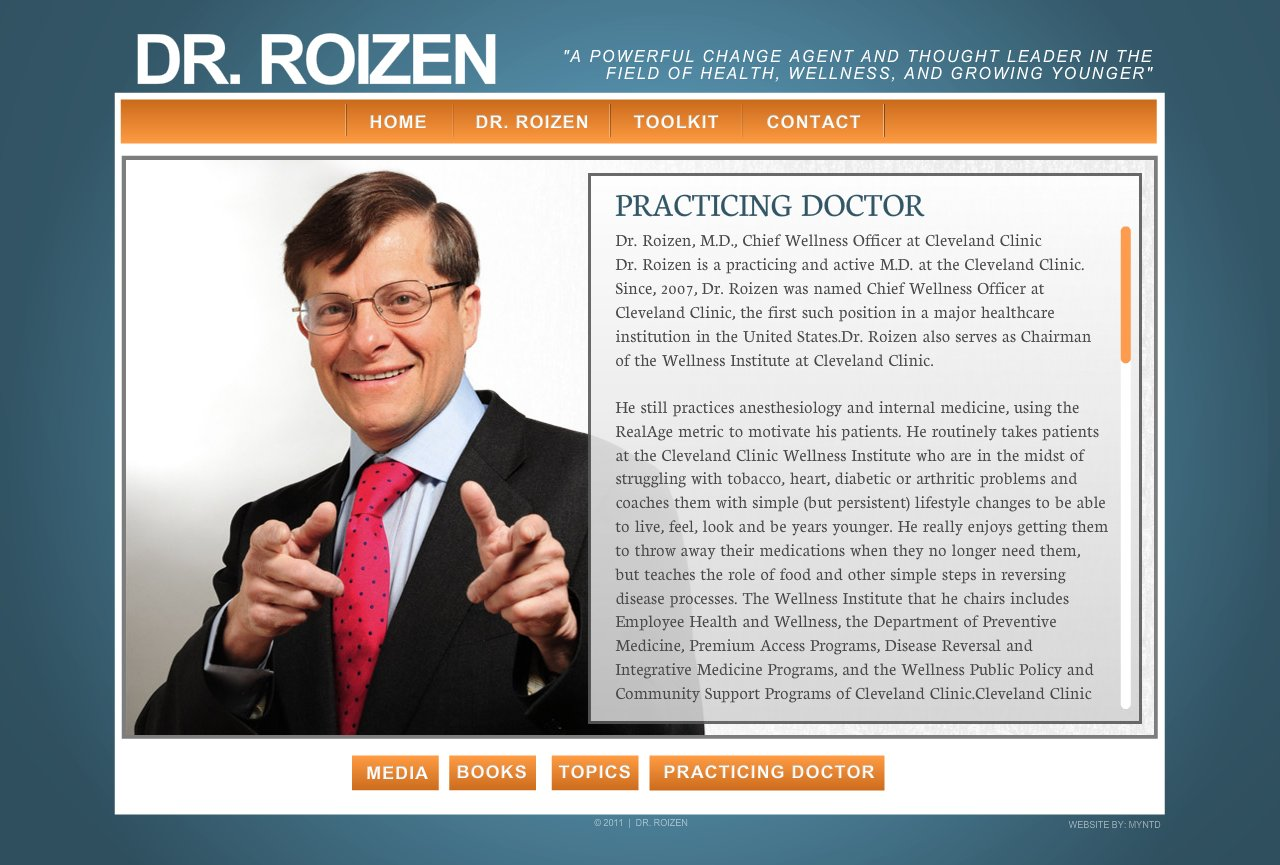 Dr-Roizen-Practicing-Doctor