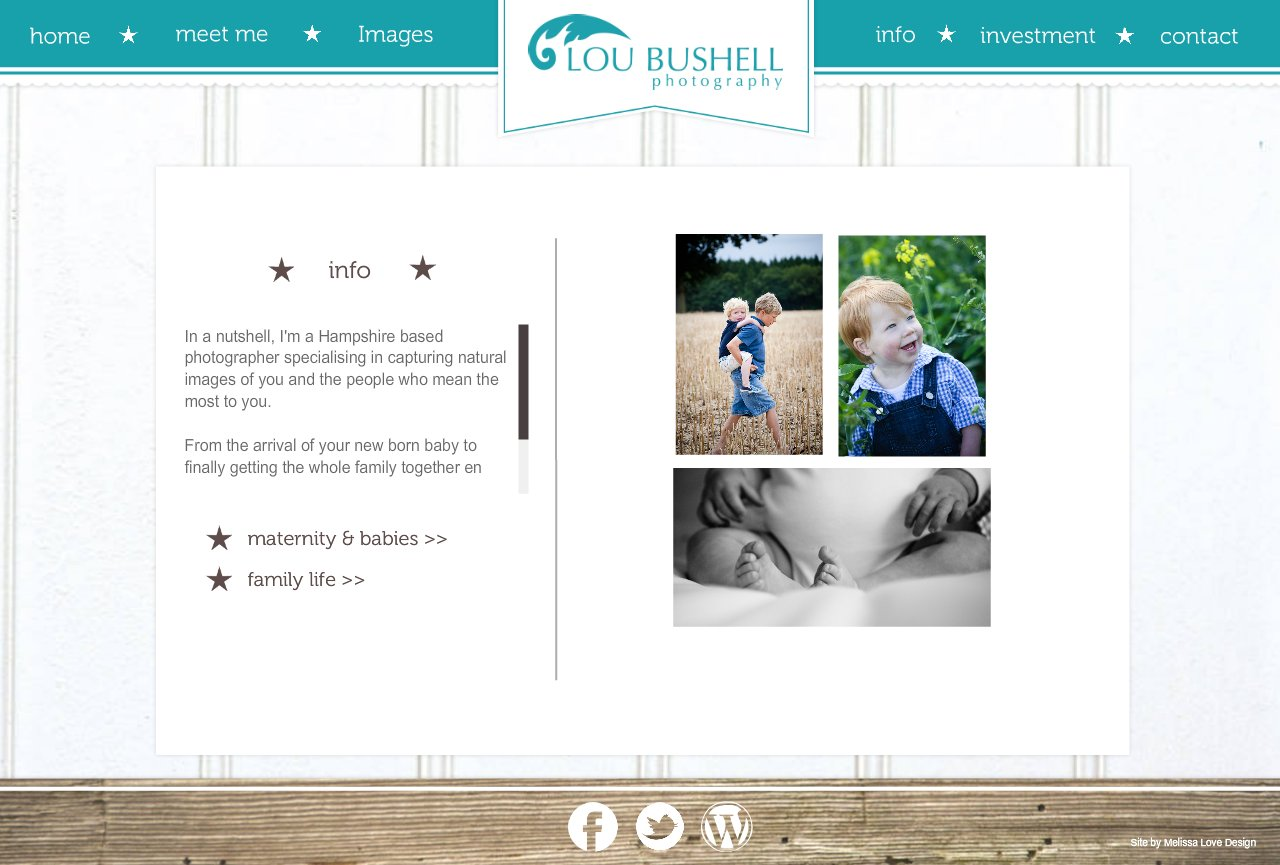 info | Lou Bushell Photography - West Sussex Wedding & Portrait Photographer