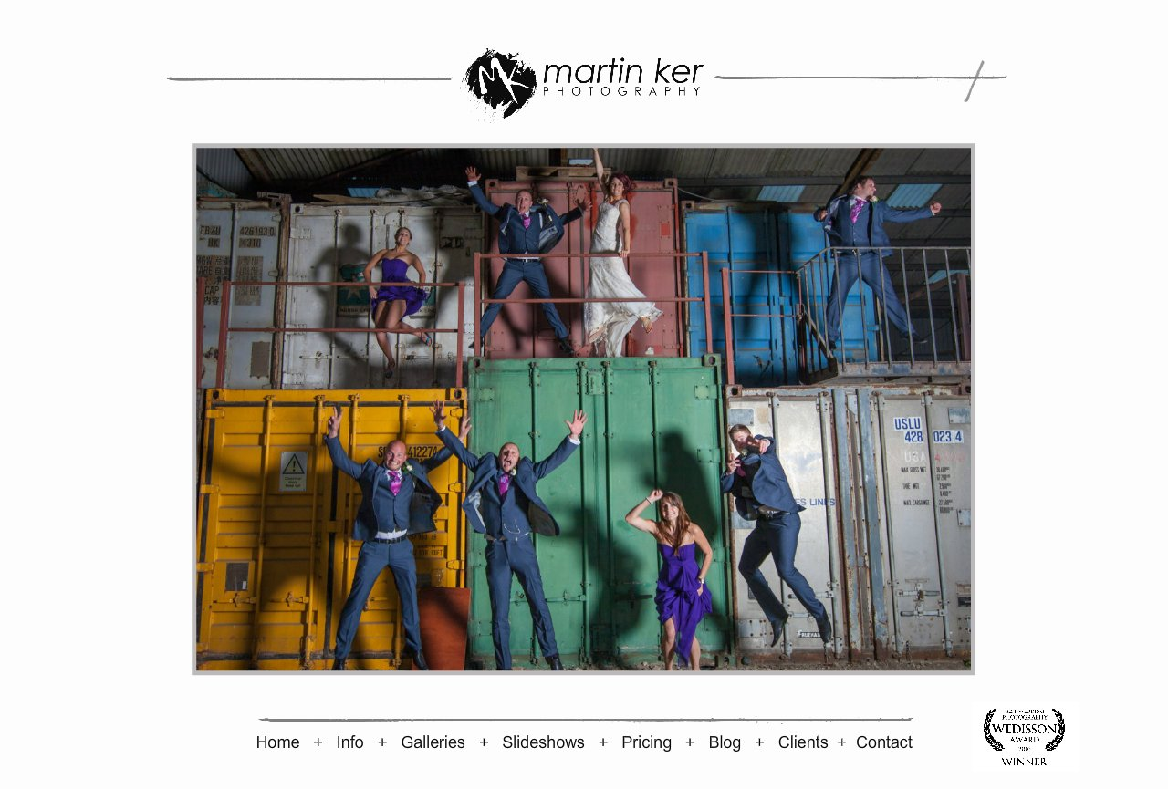 Martin Ker Photography Homepage