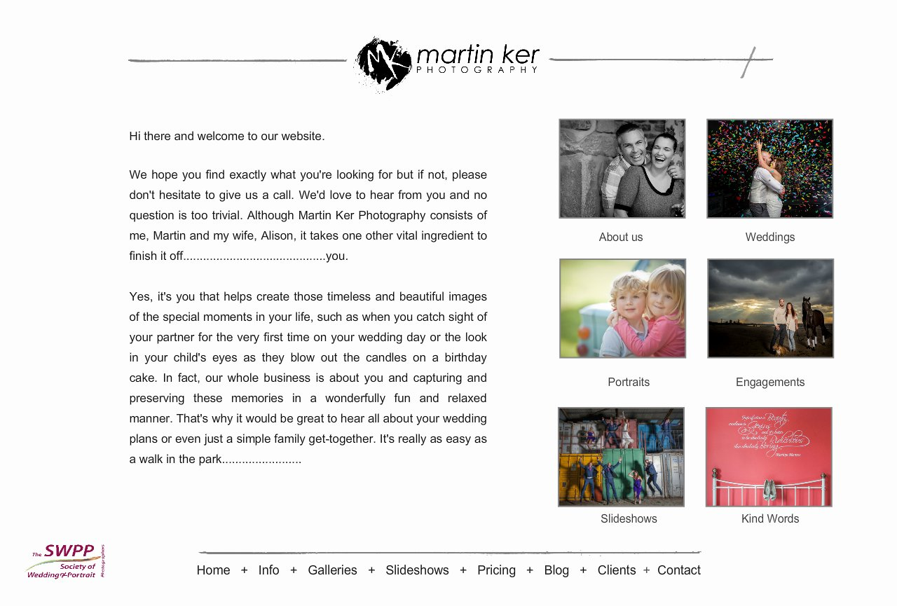 Martin Ker Photography information