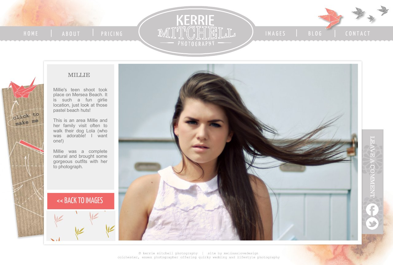 Kerrie Mitchell Photography  I  Teen Photo Shoot Story 1