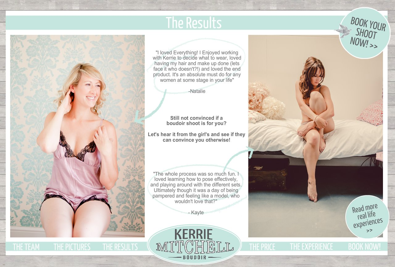 Bridal Boudoir Photographer  Based in Colchester, Essex  |  THE RESULTS