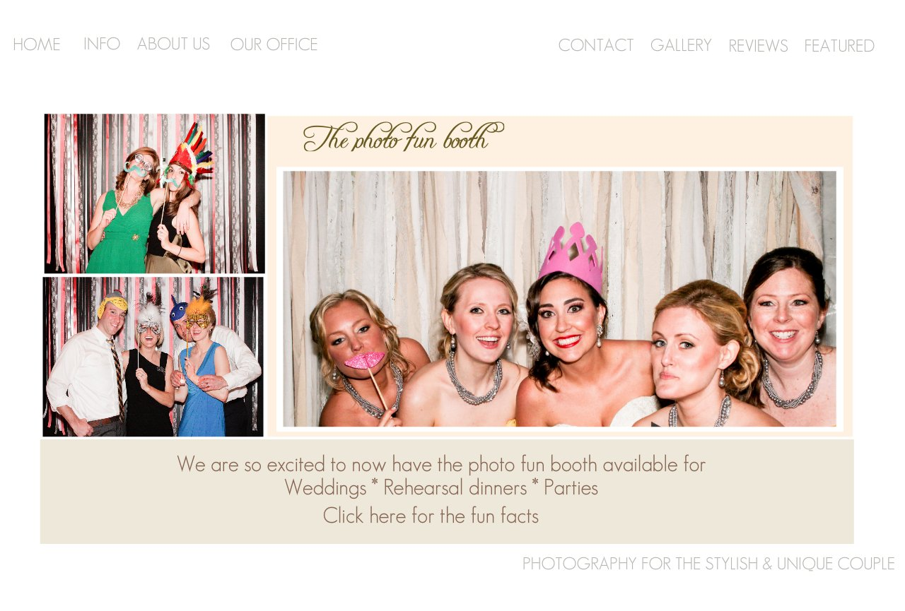Orlando Wedding Photo booth - Amalie Orrange Photography