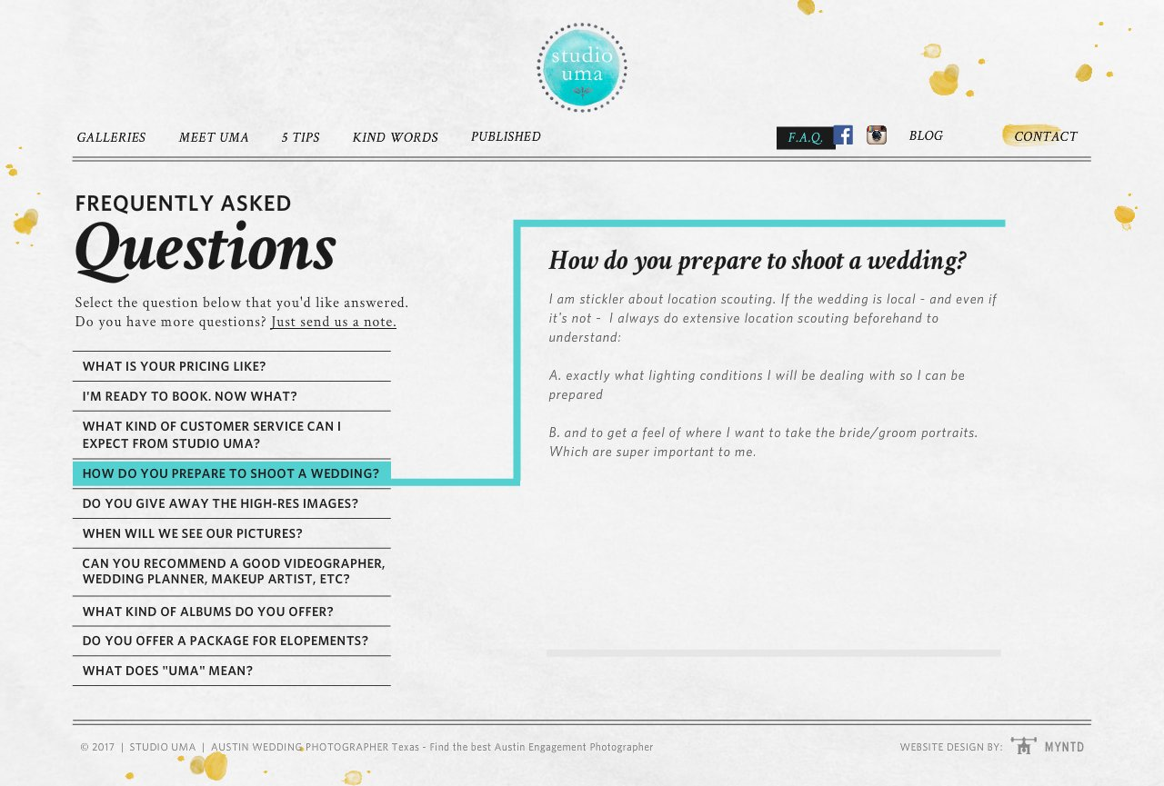 How do you prepare to shoot a wedding?