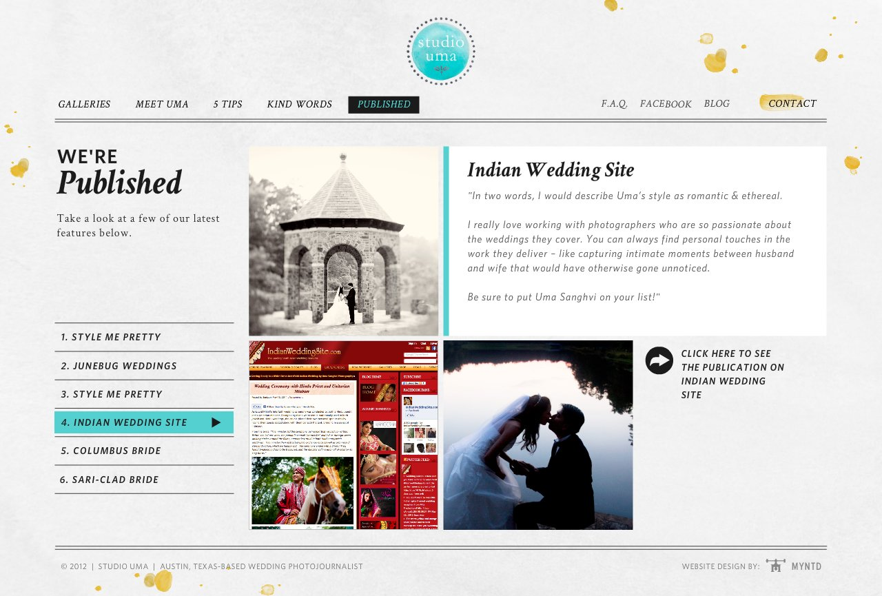 Published on Indian Wedding Site