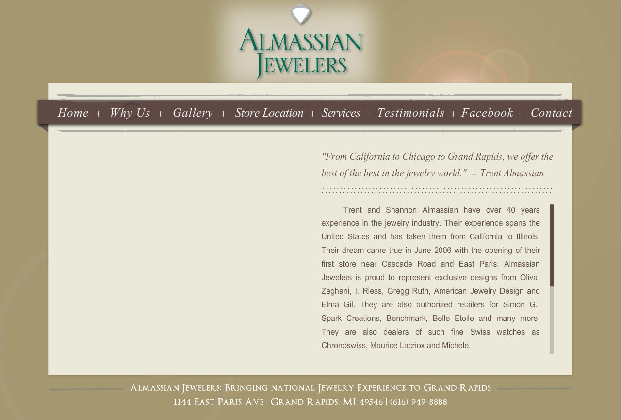 Grand Rapids Jeweler - About