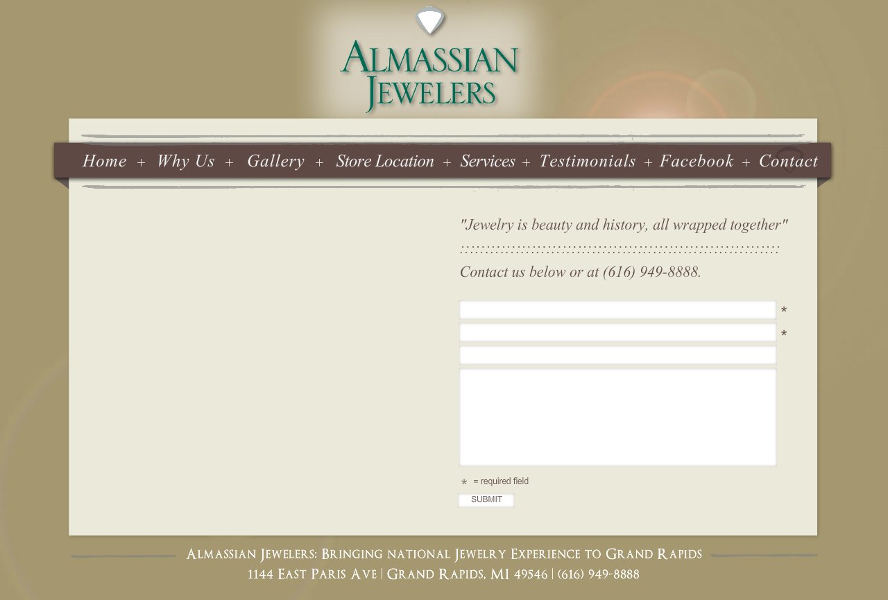 Grand Rapids Jeweler - Contact