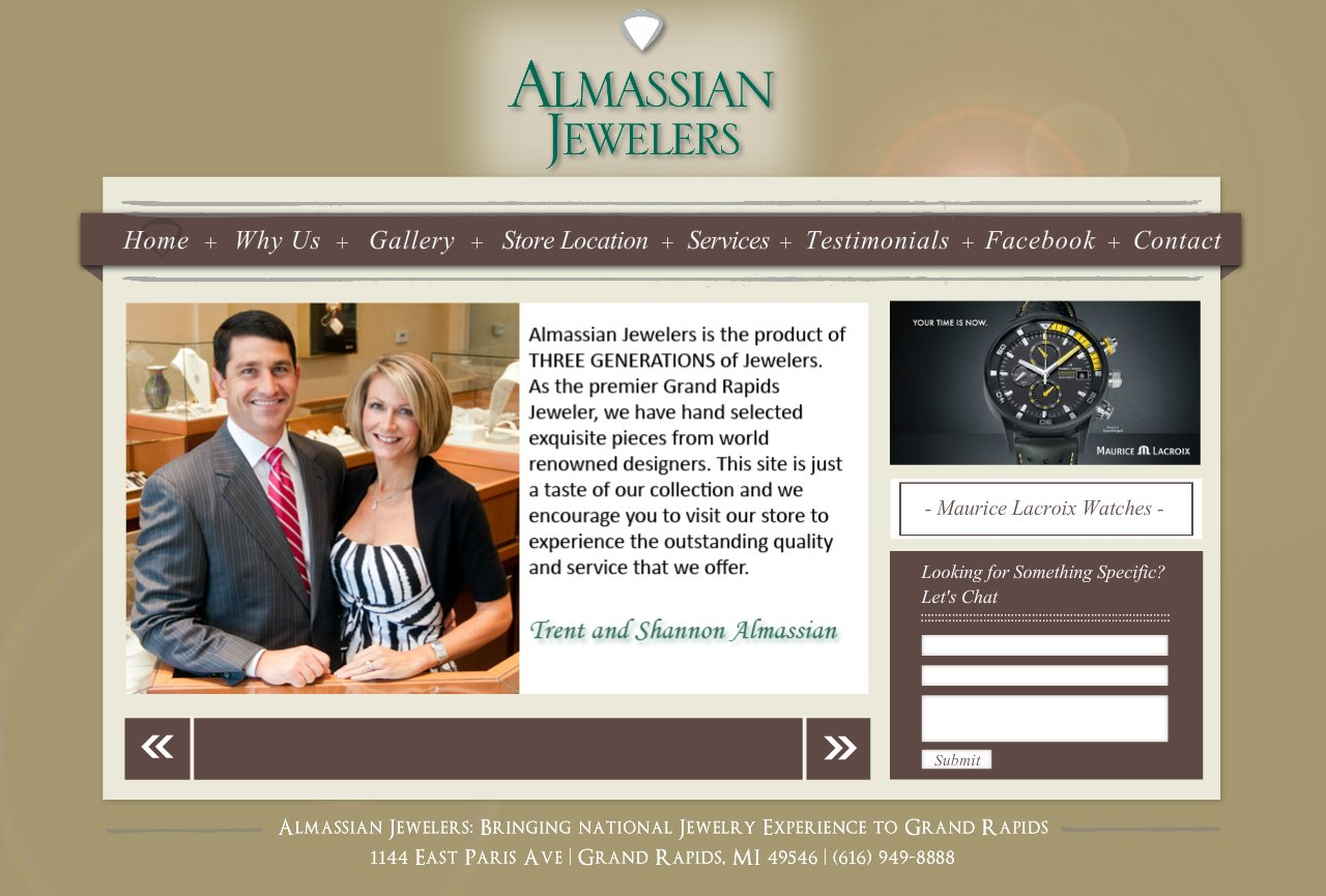 Grand Rapids Jeweler - Home