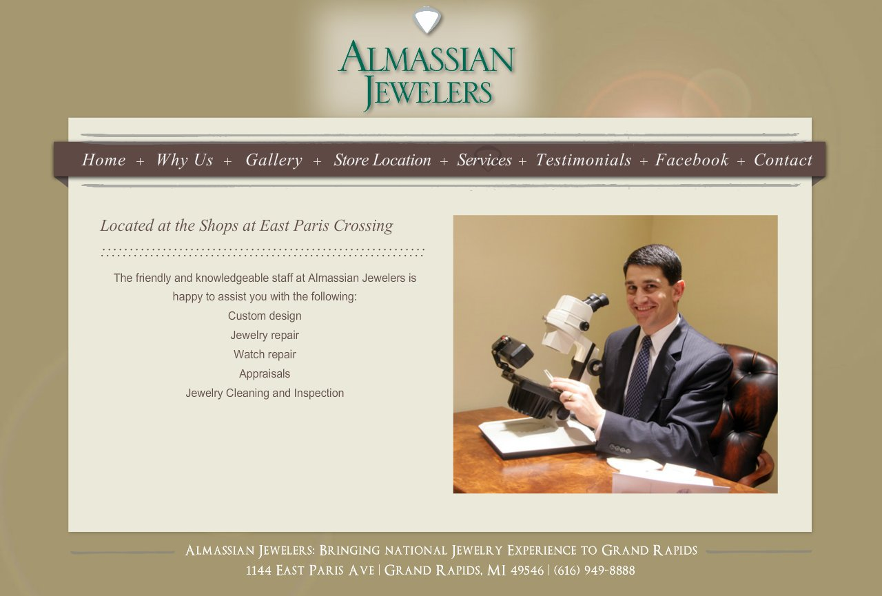 Grand Rapids Jeweler - Services