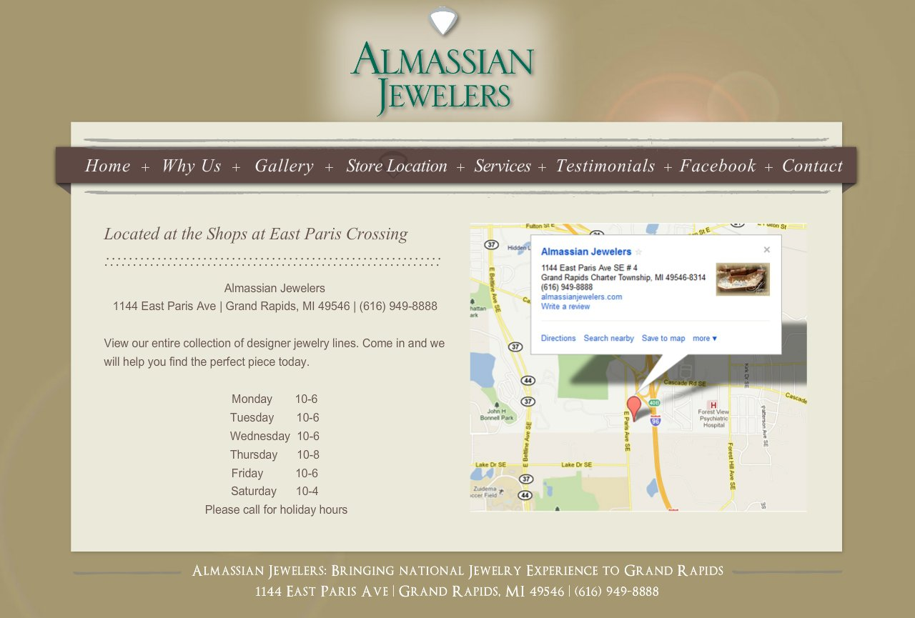 Grand Rapids Jeweler - Store Location