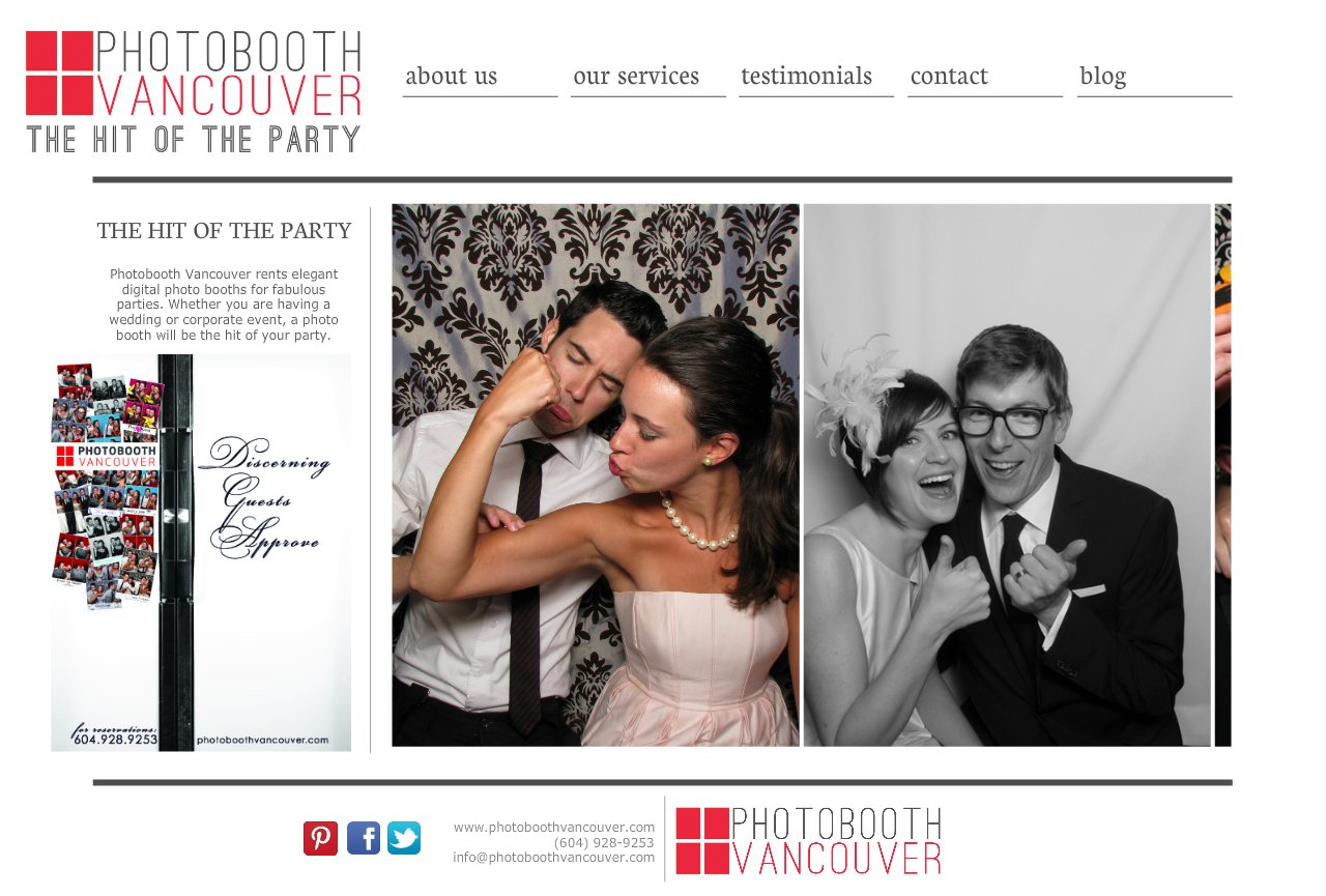 The Hit of the Party - Photobooth Vancouver