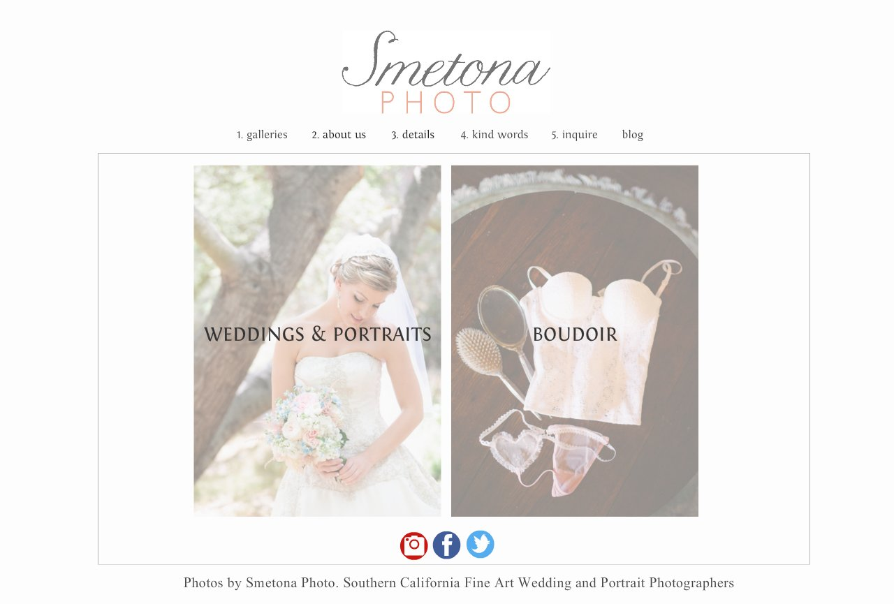 Smetona Photo- Wedding, Portrait and Boudoir Photographers