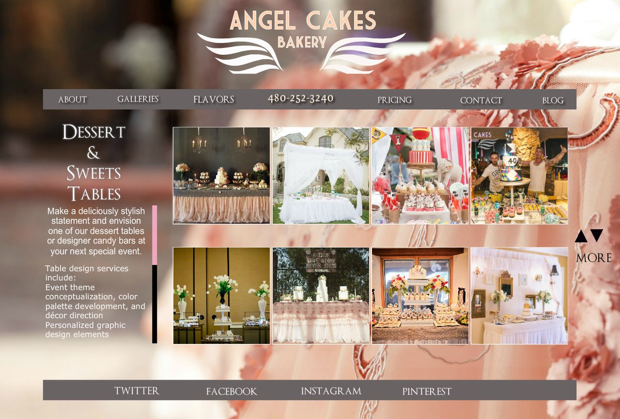 Gallery- dessert tables