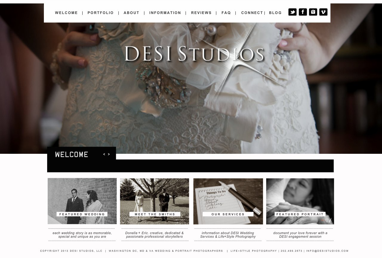 DESI Studios - Welcome