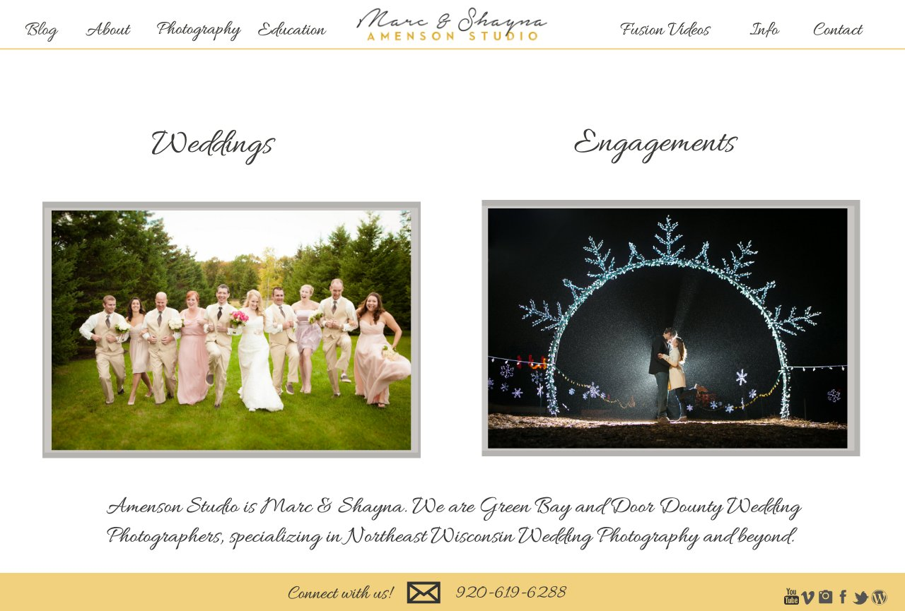 Premier Wisconsin Wedding & Engagement Photographers
