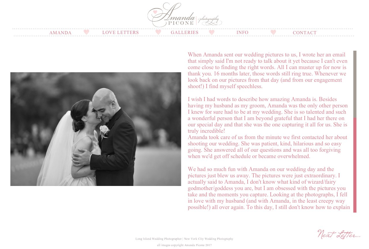 Long island and nyc wedding photographer love letters