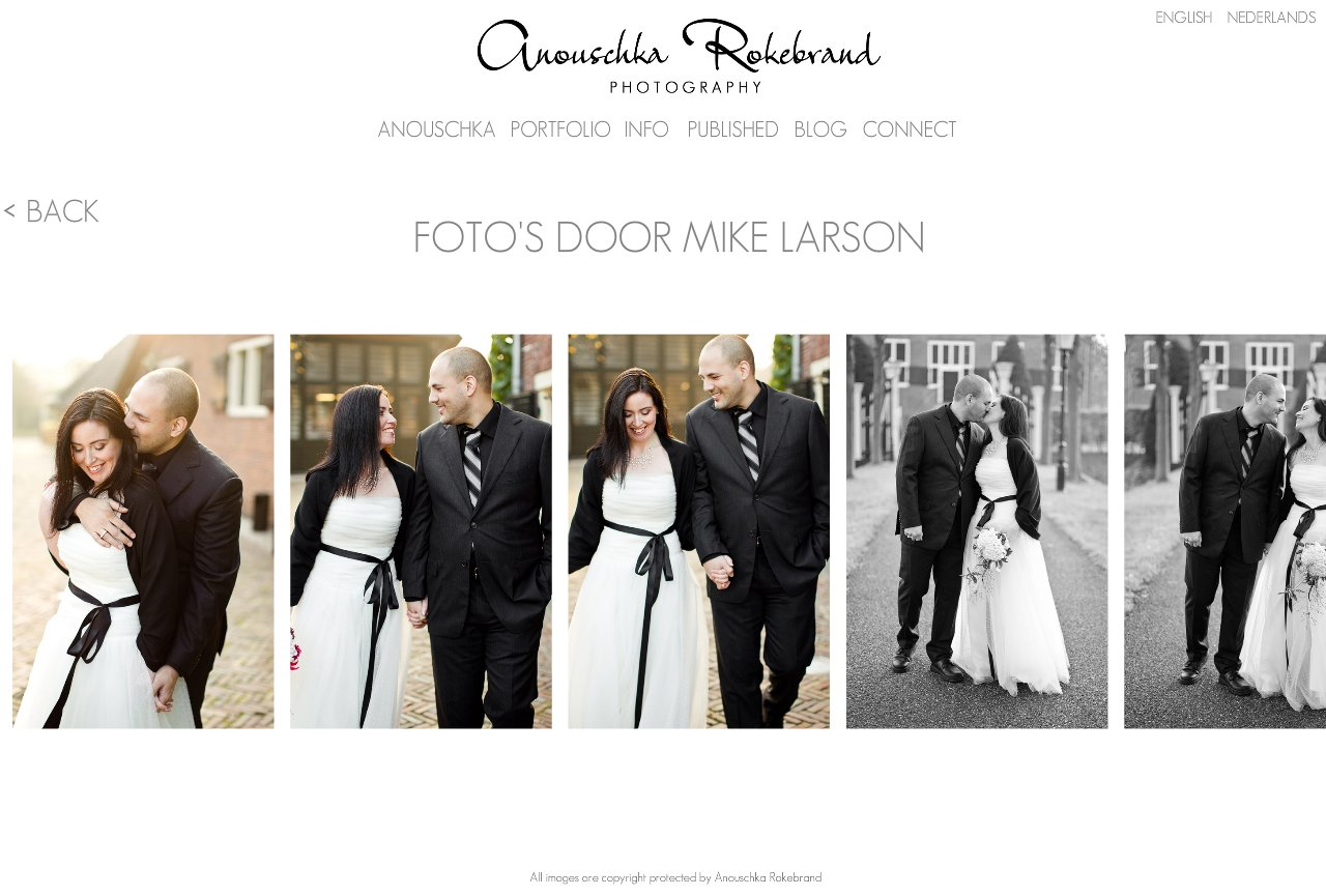 Anouschka Rokebrand Photography - Photos of us by Mike Larson