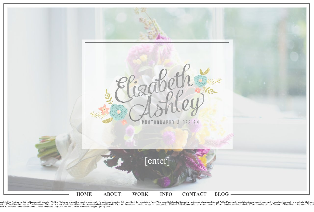 Elizabeth Ashley Photography | Lexington, KY Wedding, Engagement and Portrait Photographer |
