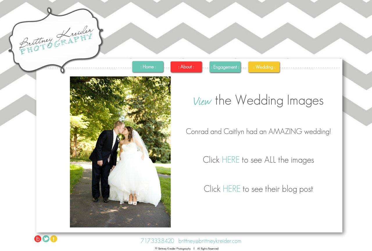 Brittney Kreider Photography : Wedding Photographs in Lancaster, PA