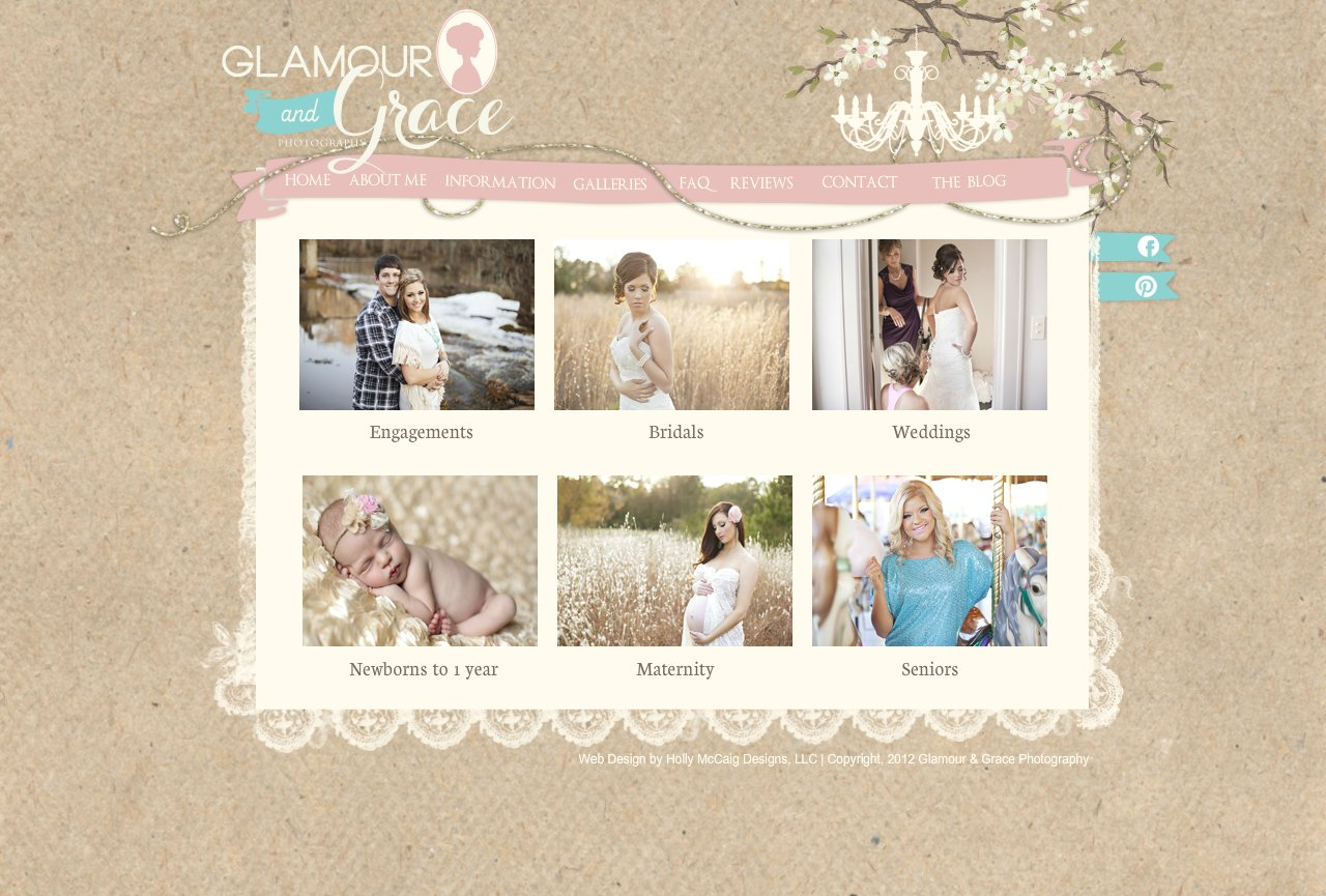 Glamour and Grace Photography - Galleries