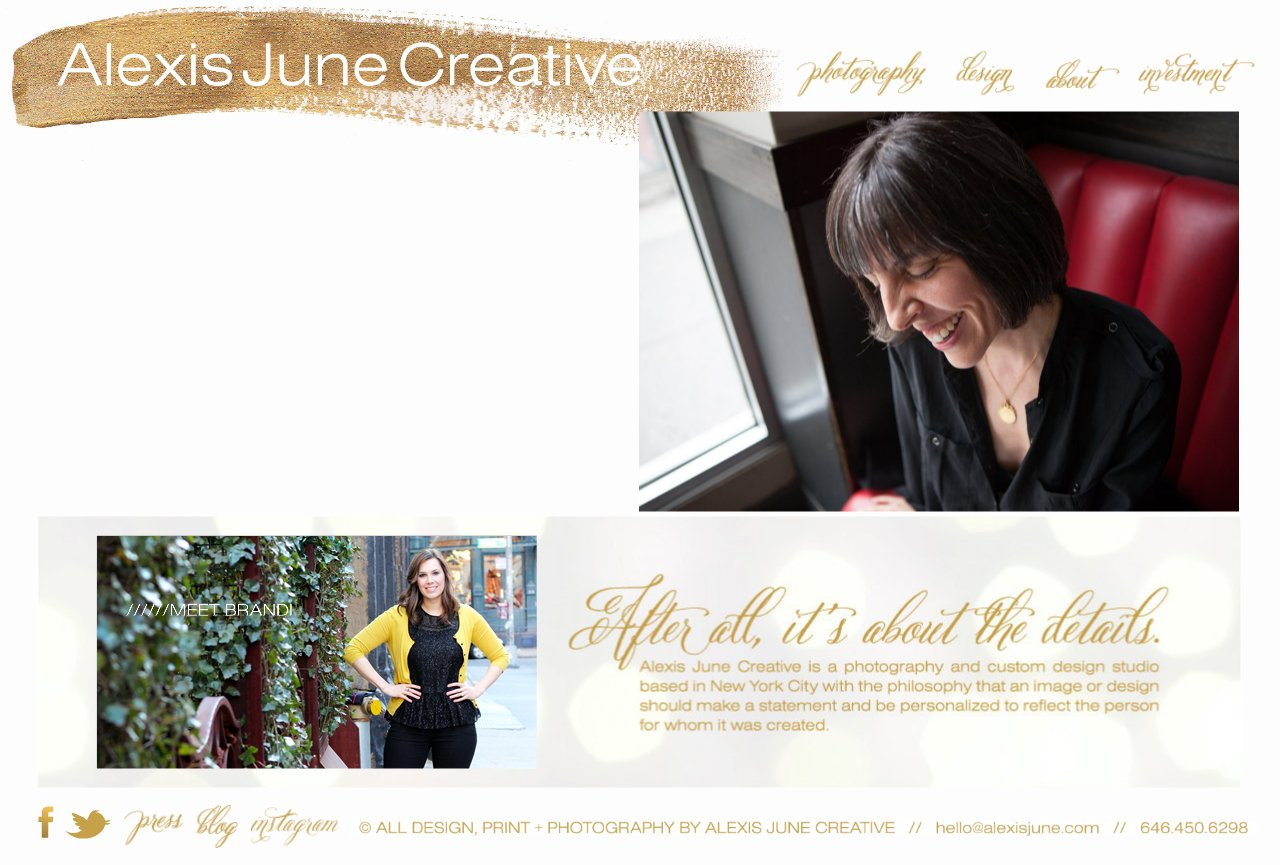 NYC Lifestyle Photography + Custom Stationery - Alexis June Creative - NYC Lifestyle Photography + Custom Stationery