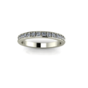 Prong Set Eternity Band with Edge