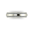 Classic Wedding Band with Diamonds