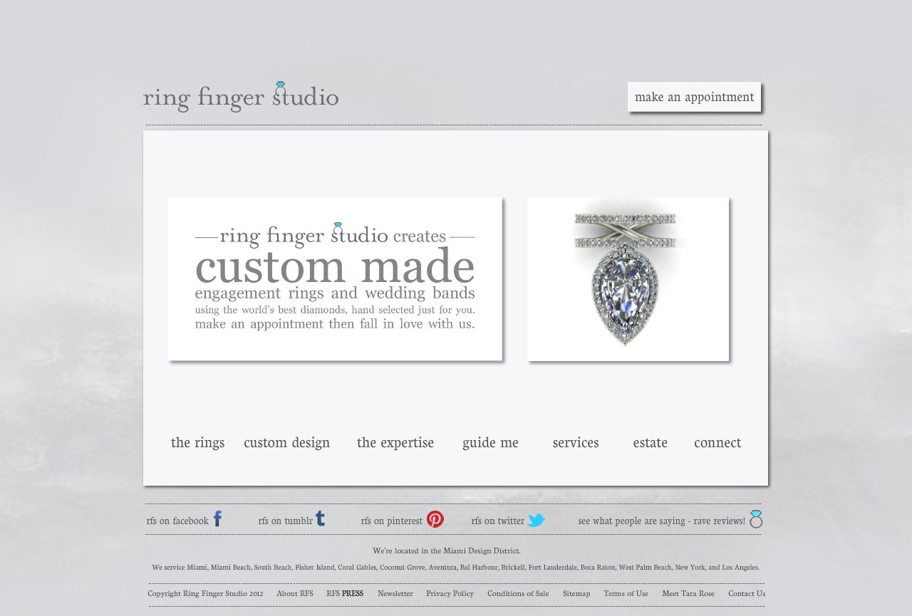 Custom Diamond Engagement Rings and Wedding Bands in Miami - By Tara Rose