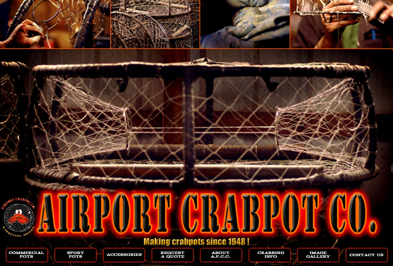 airport crabpot home page