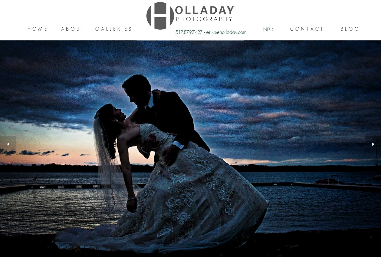 Erik Holladay Photography - Kalamazoo / Grand Rapids Based Wedding Photographer