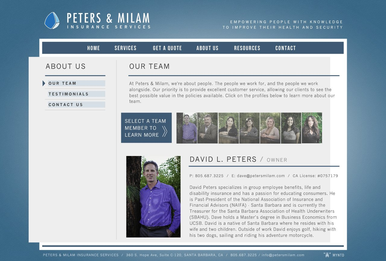 About-Team-David-Peters