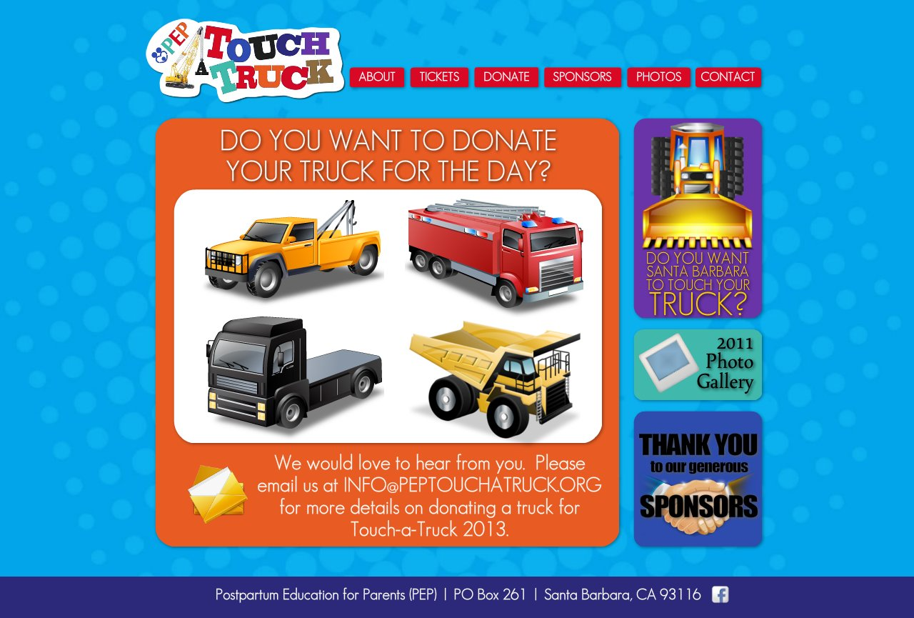 PEP Touch-A-Truck :: DONATE