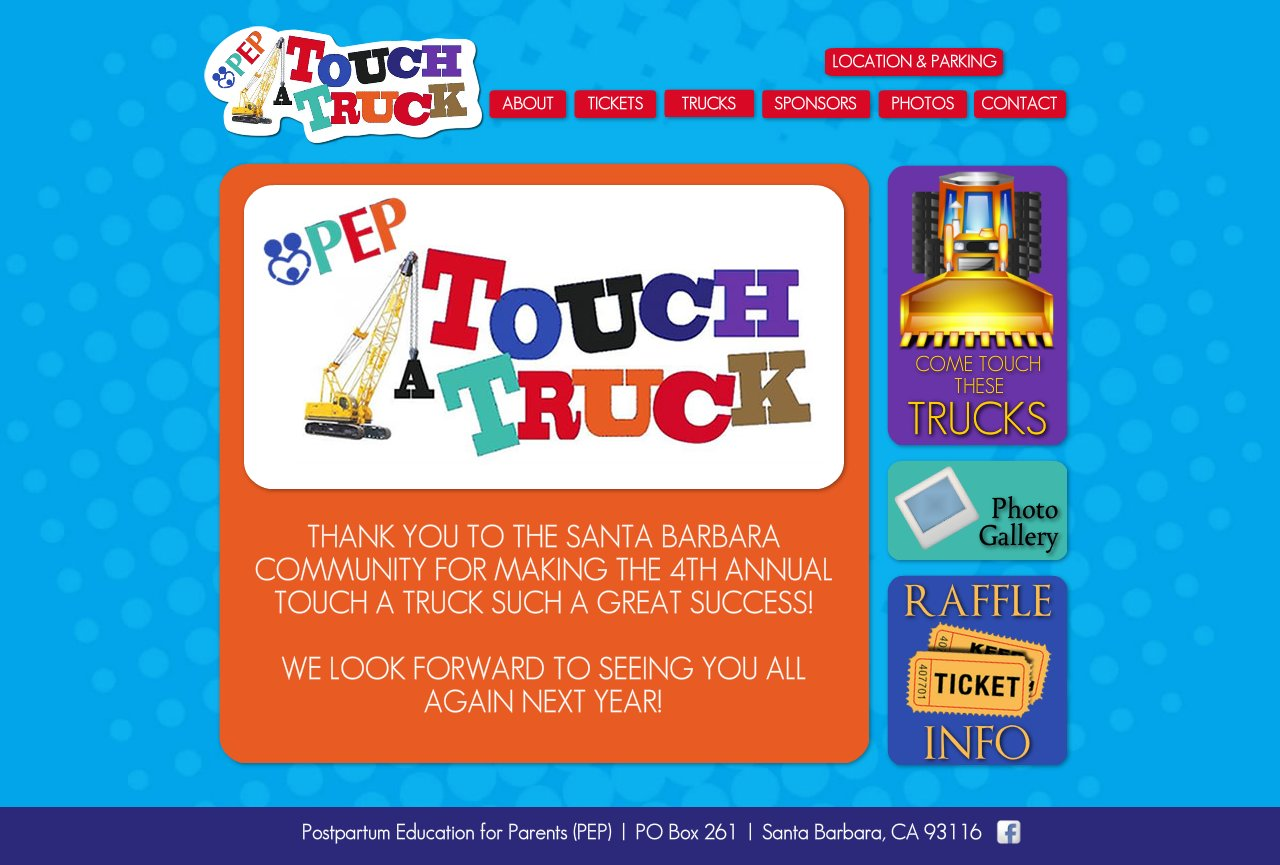 PEP Touch-A-Truck :: THANKS