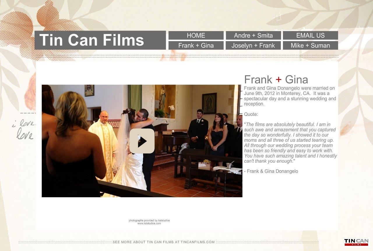 Frank + Gina