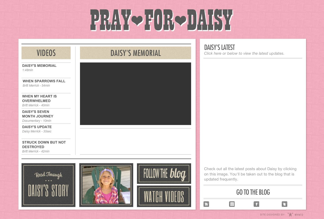 Daisy-Video-Daisys-Memorial